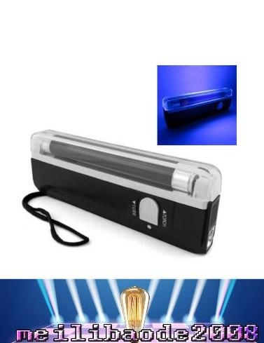NEW Handheld UV Black Light Torch Lamp Blacklight Party Stage Dj Pet Money Verify Forgery Detection Fluorescent Inks MYY