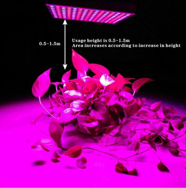 Растут огни полный спектр LED светодиодные роста растений свет завод растет светильник красный потолочный светильник 45 Вт 85-264в растет светильник