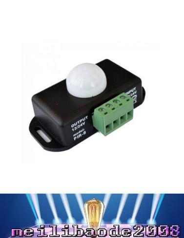 12V 24V Mini PIR Détecteur De Mouvement Capteur Détecteur Pour Lampe LED Bande Lumière Bande SMD 5050 3528 5630 Corps Détection Infrarouge 6A 12 Volts 24 MYY