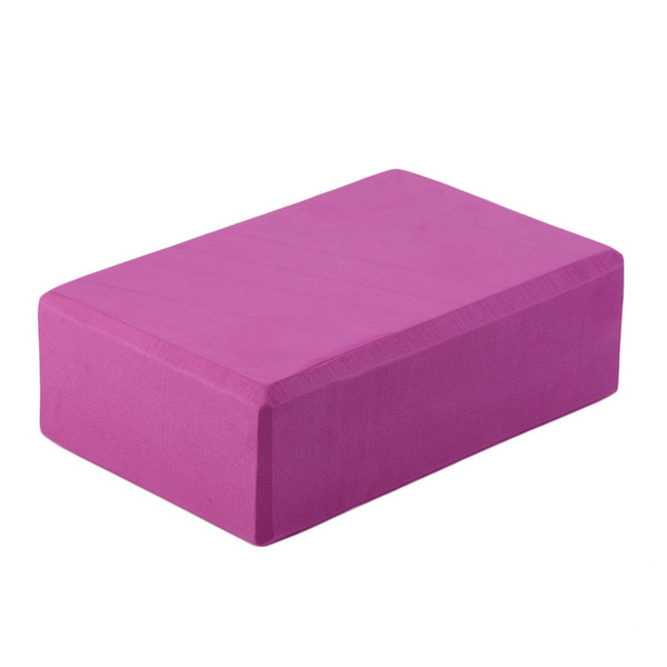 new Yoga Block Brick Foaming Foam Home Exercise Practice Fitness Gym Sport Tool 4Colors free shipping