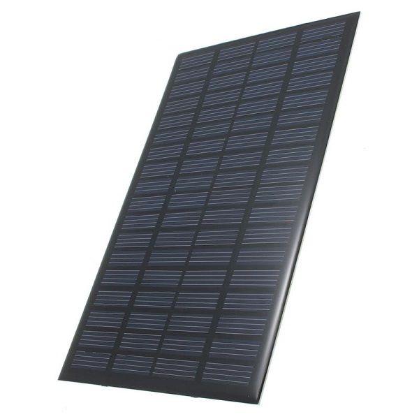 Alta Calidad 2.5 W 18 V Módulo de Célula Solar Policristalino Sistema de Panel Solar de BRICOLAJE Energía Verde 194 * 120 * 3 MM Envío Gratis