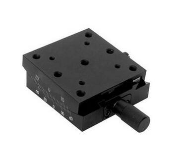 PT-SD301 Precise Manual Goniometer Stage, Dovetail Platform, Optical Sliding Table, Rotation Range: +/-10 degree