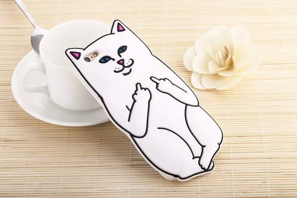 3D Ripndipp Pocket Cat Cartoon Custodia In Silicone Morbido Per Samsung Galaxy J310 J510 J710 J5 J7 J7 A7 E7 G530 G360 Medio Finger Capa Skin Cover