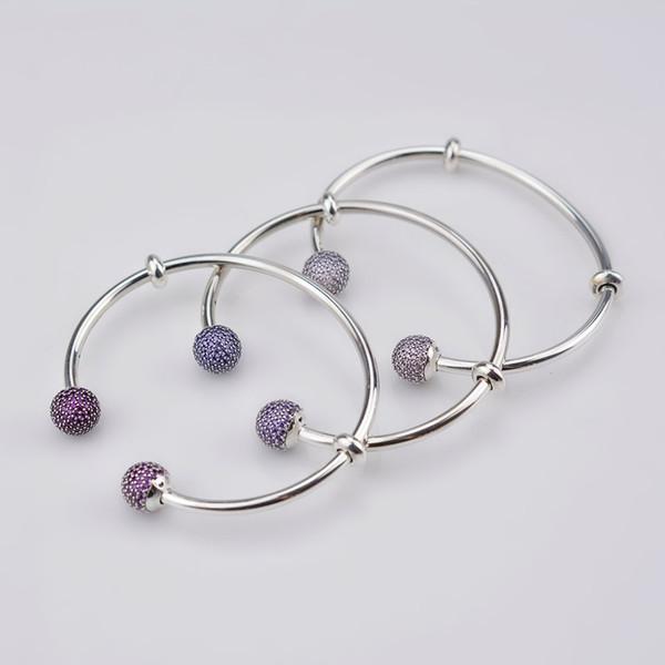 DORAPANG 2017 NEUE Die Neueste MOMENTS 925 Sterling Silber Doppelköpfige Perlen Muster Armreif DIY Pandora Armband Charms Geschenk Für Frauen