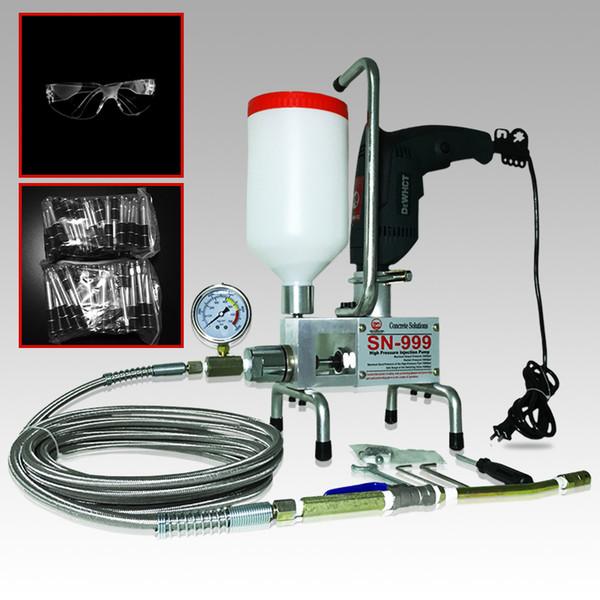 Packer ready uit premium epoxy injection pump polyurethane foam grouting machine dual element crack injection