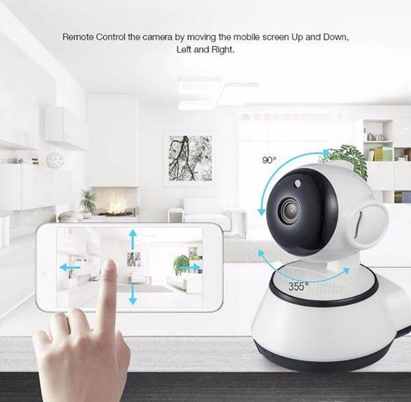 2019 ev güvenlik ip kamera wifi kamera video gözetim 720 p gece görüş motion algılama p2p kamera bebek monitörü zoom