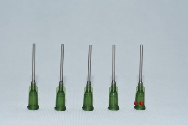 14GA 1-inch tubing length,Precision Blunt S.S. dispensing Tips 100pcs/pack