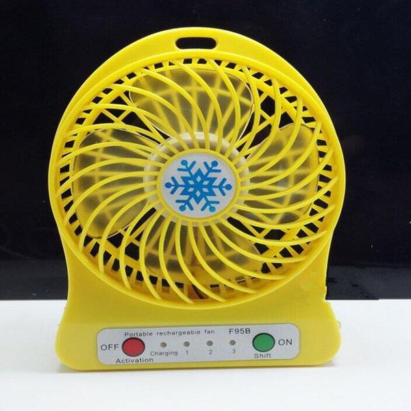 Mini Protable Fan Yellow