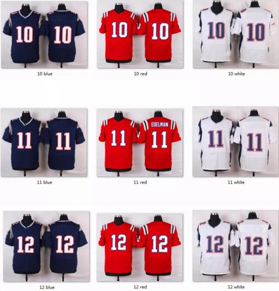 competitive price 41ff7 b9f7a 2019 2017 American Football Jerseys 12 Tom Brady Jersey 11 Julian Edelman  Rob Gronkowski Brandin Cooks Shirts Soccer Custom Throwback Jersey 4xl From  ...