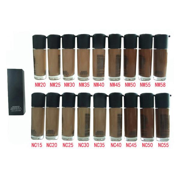 Brand Makeup Liquid Fundação Matchmaster Fundação SPF 15 35ml 18colors (NC15-NW58)