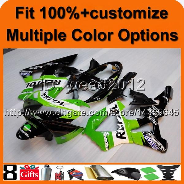 Carlinga de la motocicleta del molde de inyección 23colors + 8Gifts para HONDA CBR929RR 2000-2001 CBR929 RR 00 01 cubierta del motor ABS Plastic Fairing