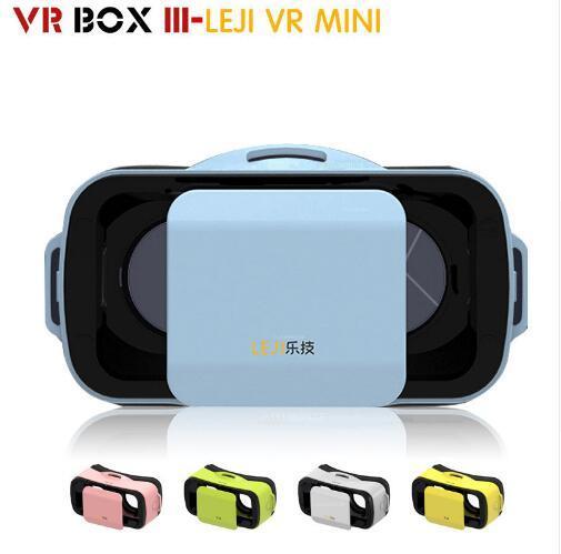 "NEW VR BOX III 3 LEJIVR Mini Virtual Reality Headmount VR Virtual Reality 3D Glasses 3D Game Movie for 4.5"" - 5.5"" Smart Phone"