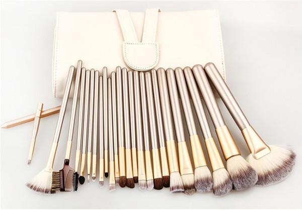 12/18/24pcs Makeup Brush Set Kit Professional Makeup Brushes face Foundation Powder Blush Eyes Brushes Cosmetics Brush with Up bag