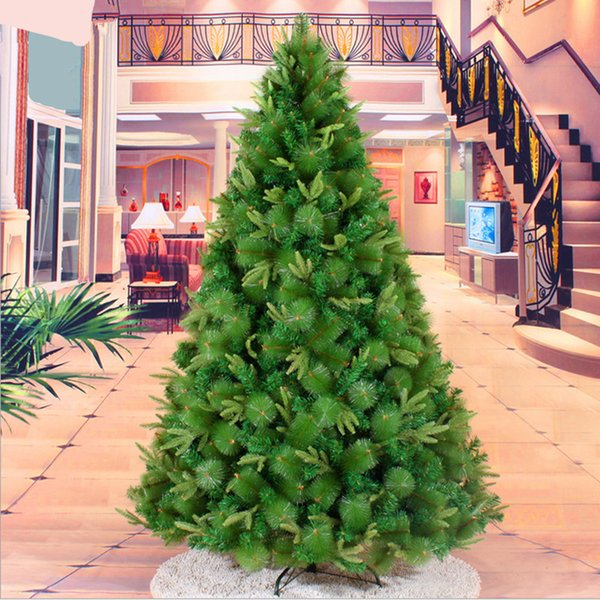 New factory outlets 2.1 m / 210CM high-end mixed tree Christmas decorations Christmas decoration best gift ornaments