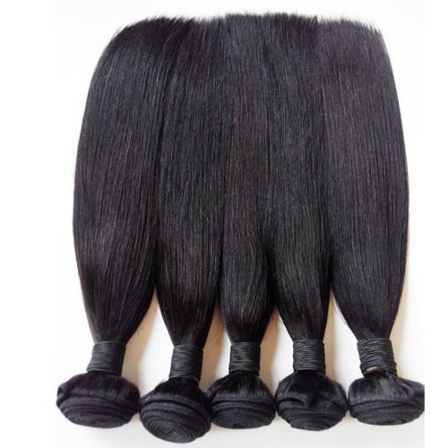 Brasilianisches gerades Haar spinnt Bündel preiswerte Jungfrau-menschliche Haar-Verlängerungen 3 4 5pcs natürliche Farbe beste Qualität peruanisches Indin remy Haareinschlagfaden