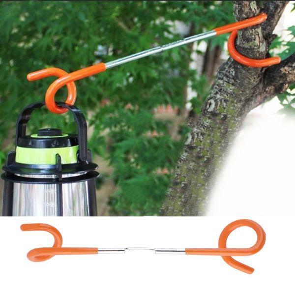 1 adet 2 yollu Fener Işık Lamba Askı Çadır Direği Posta Kanca Açık Kamp için ücretsiz kargo açık gadgets