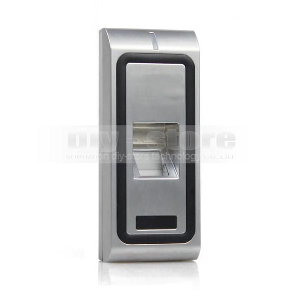Fingerprint Access Controller 125KHz RFID ID Card Reader Keypad 2 In 1 + Remote Control Kit Metal Case CFR10