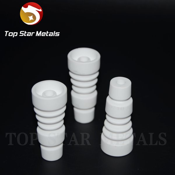 100% food grade ceramic Domeless Ceramic Nail 14mm & 18mm Male