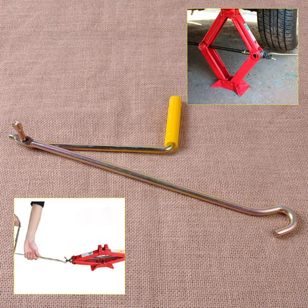 Wholesale-Metallic Farbe Auto Van Garage Stahl Reifen Rad Lug Scissor Jack Crank Geschwindigkeit Griff Auto Lift Tool für Scissor Jack Lifter
