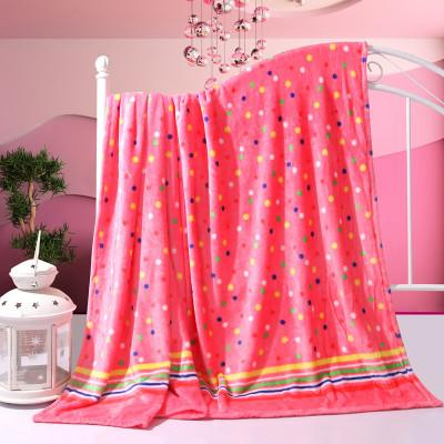 Hot sale 4 sizes Coral Fleece blanket on the bed home adult Beautiful color blanket warm winter sofa travel blanket portable