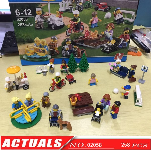 City Town Fun In The Park City People Pack--LEPIN BLOCKS LEPIN ...