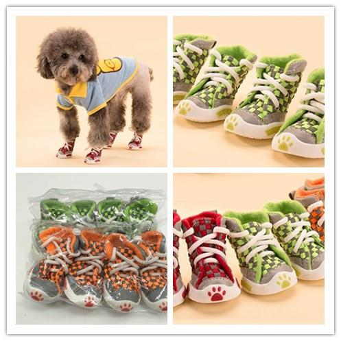 Dog Shoes For Spring Summer Breathable Small Dogs Anti-slip Dog Pet Shoes Dog Shocks For dogs