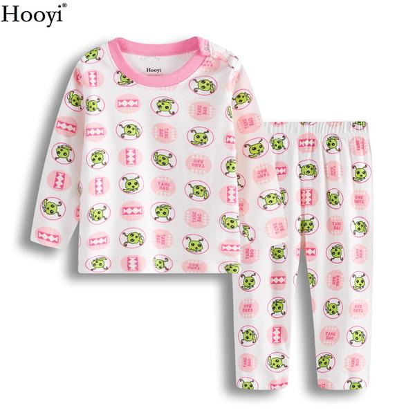 a2308df156b4d Hooyi Worm Baby Girl Vêtements Ensembles Mode Bébés Pyjamas Vêtements  Costume Infantile T-Shirt Costume