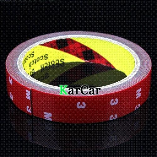 3M Tape 20mm Double Sided Sticker Acrylic Foam Adhesive, Car Interior Tape Free Shipping tape
