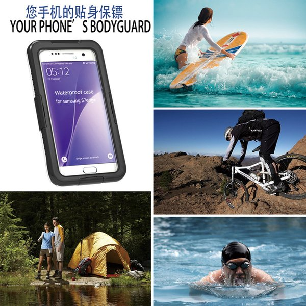 Waterproof Case Diving Underwater Watertight Cover For iPhone 7 6 6S Plus SE Samsung Galaxy S8 S7 edge S6 edge Note 5 S5