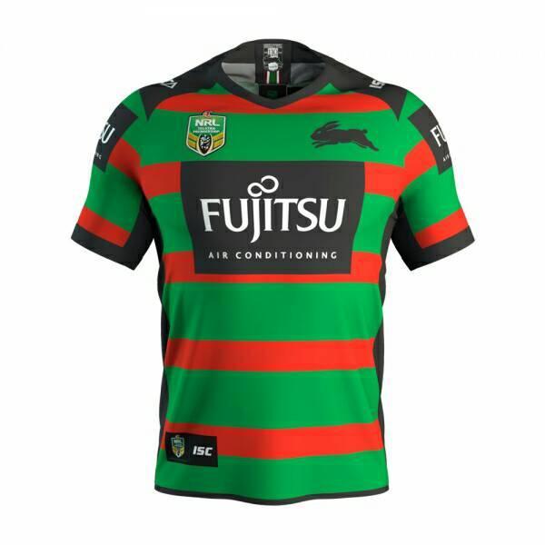 2018 NRL JERSEYS Australia SOUTH SYDNEY RABBITOHS Rugby 2017/18 seasons South Sydney rabbit Rugby jerseys rugby shirts JERSEY size S-3XL