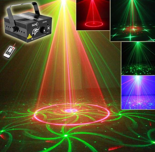 Nuovi modelli RG 24 Z24RG Laser blu chiaro Stage DJ Home Party Show completo Club Bar Colorful Christmas Music natalizio