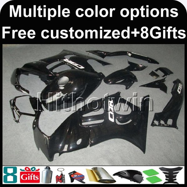 23 colores + 8 Regala negro CBR600F3 95-96 95 96 1995-1996 Carenados de ABS Nuevo carenado de la carrocería para honda CBR600 CBR 600 F3 1995 1996