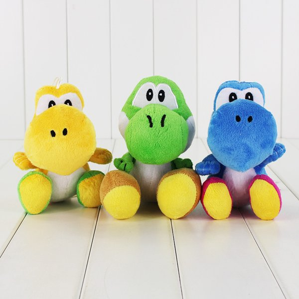 Il giocattolo molle della bambola farcito del giocattolo eccellente della peluche di Mario di stili di Mario di 18cm 3 per il regalo del giocattolo dei bambini libera la vendita al dettaglio