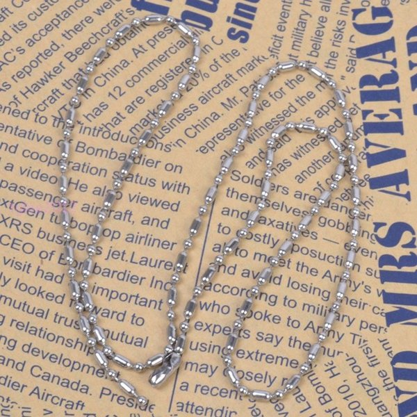 Details about Wholesale 50pcs 2.4mm Balls Chain Stainless Steel DIY Jewelry For Necklace In Bulk