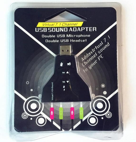 Sound Card 7 1 Free Drive Plug And Play Sound Card Usb Sound Aircraft  External Laptop M Audio External Sound Card M Audio Sound Card From  Simon2015,