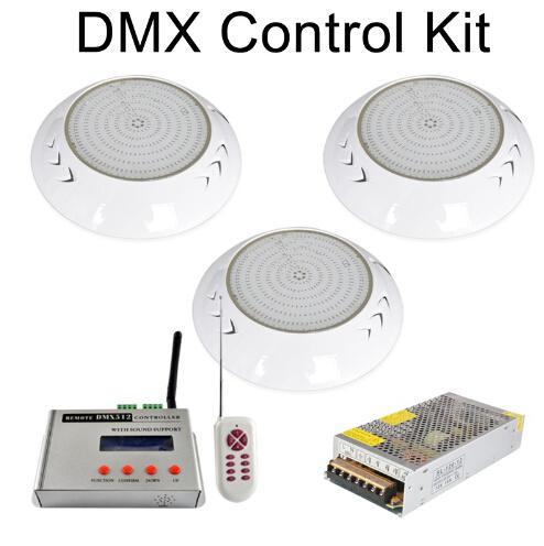 طقم تحكم DMX 18W