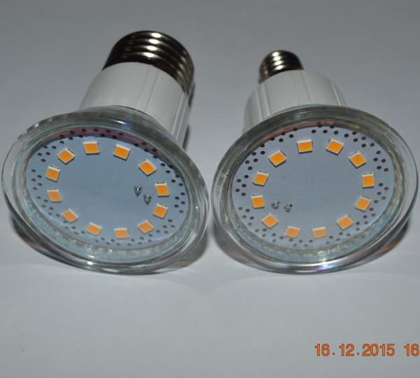 4шт / серия 3W SMD2835 3W E27 Лампа 220V Ra80 светодиодные лампы теплый белый свет водить пятна 230V свет Бесплатная доставка