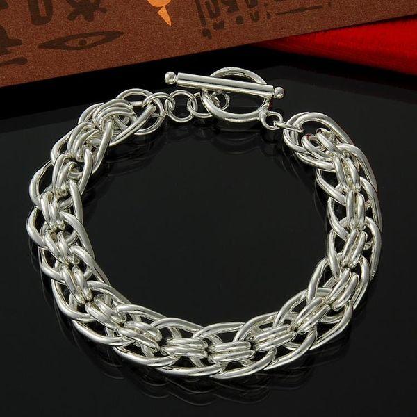 Braccialetto dell'argento sterlina del braccialetto di modo dell'argento sterlina del BRACCIO 925 all'ingrosso diretto della fabbrica