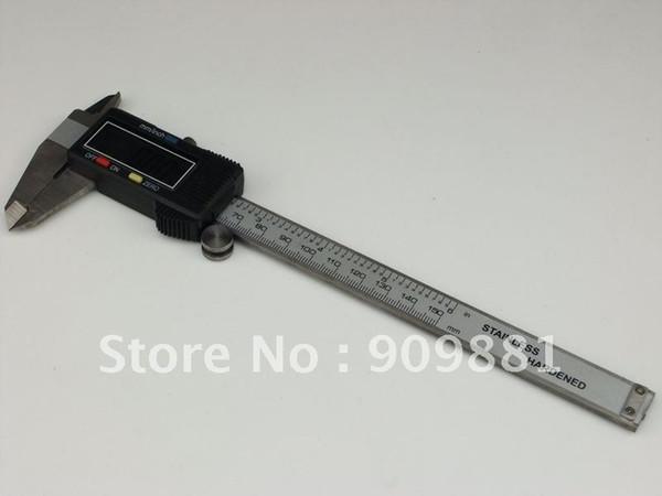 Color : Caliper box Pied /à coulisse num/érique 6 pouces 0-150mm en acier inoxydable Pied /à coulisse /électronique microm/ètre Profondeur Outils de mesure