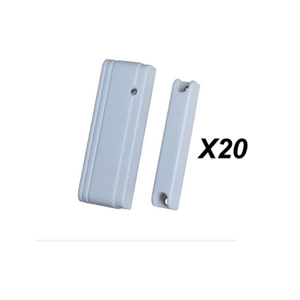 Al por mayor-Precio de fábrica 20pcs MD-215R Mini interruptor de puerta magnética puerta de la puerta de contacto Sensor de ventana para ST-IIIB, ST-VGT TCP IP GSM Alarm Casa