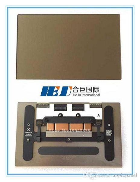 "Freeshipping 617-00327-04 100% NEW Laptop Gold Trackpad For Mac book pro 12"" A1534 MF855 MF865 2015 Year Wholesale MOQ:5pcs"