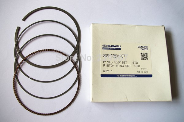Genuine Piston ring new type for Robin EX40 Engine free shipping Part # 22B-23501-07