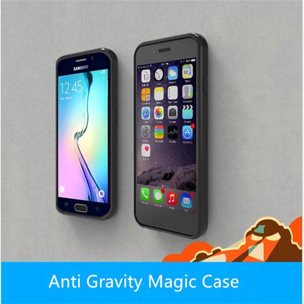 Moda Anti Gravity Custodia Selfie Magico Anti-Gravity Nano Aspirazione per iphone x 8 7 plus 6 6 s plus samsung nota 8 s8 s8 plus s7