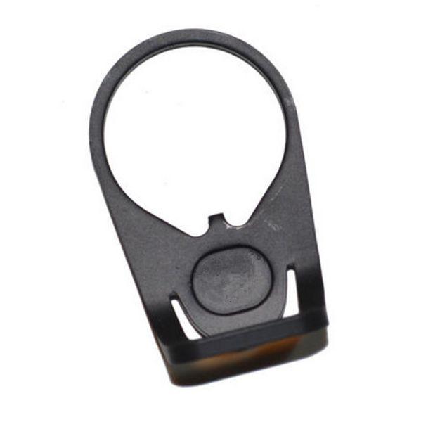 Vente chaude AR15 Noir Ambidextre Attachement Montage Accessoire Plaque D'Extérieur Sling Adaptateur Sling Swivel pour Rifle Livraison Gratuite