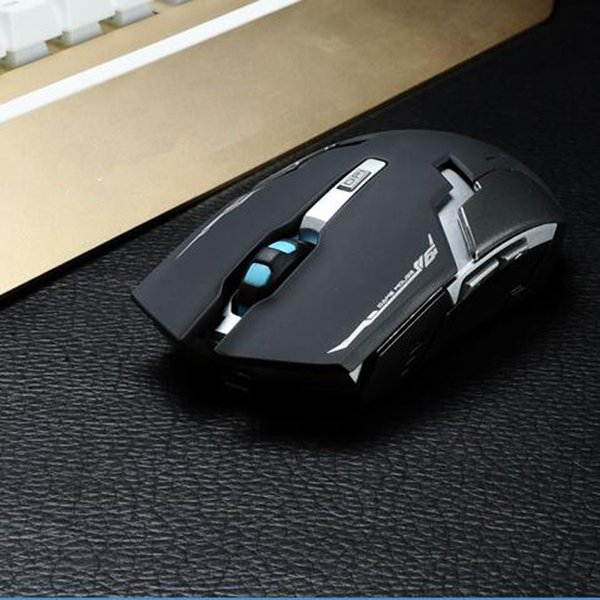 Top Quality Lithium Battery Build-in Laser Gaming Wireless Charging Mouse 2400 dpi 2.4G FPS High Performance Gamer for PC Laptop