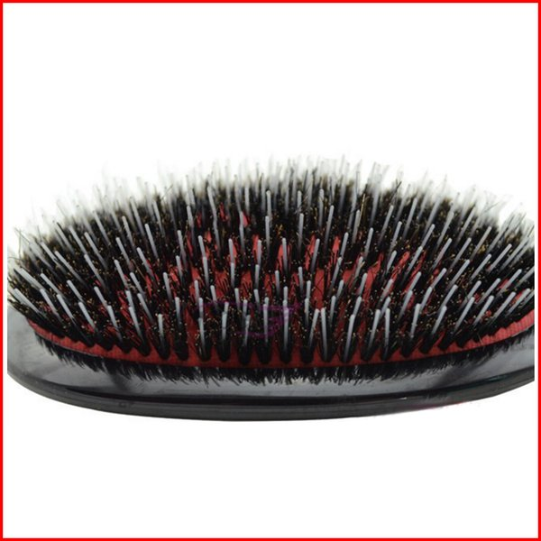 Mason Hair Brush with Massage Paddle Comb Boar Bristles Mix Nylon Extension Brush