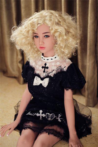 Muñeca del sexo realista del silicón de los 156cm para los hombres, muñecas sexuales del silicón japonés, muñeca real del silicón con el juguete del amor coño realista de la vagina