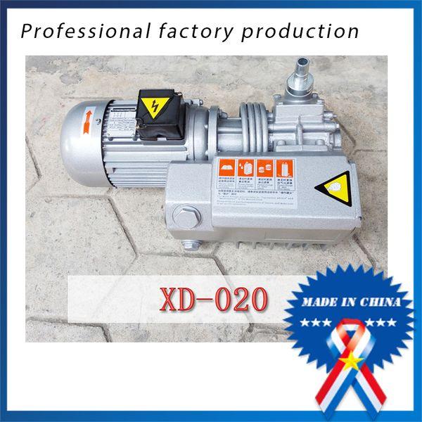 top popular 0.9KW 220V 50HZ XD-020 Single-stage Rotary Vane Vacuum Pump 2020