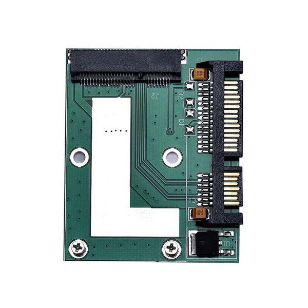 Großhandel MOSUNX mSATA SSD zu 2,5 Zoll SATA 6,0 Gps Adapter Konverter Karte Gute Qualität Drop Shipping Futural Digital Heißer Verkauf F35