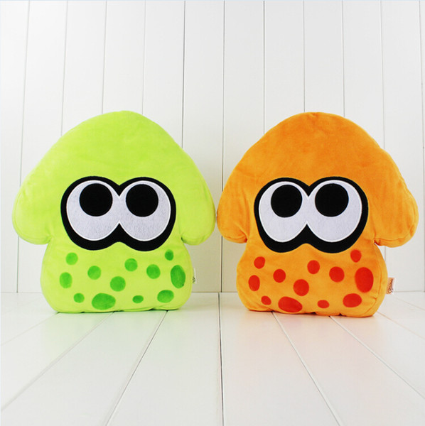 32cm Anime Splatoon Cool Squid Pillow Plush Soft Stuffed Doll Toy for kids gift free shipping EMS